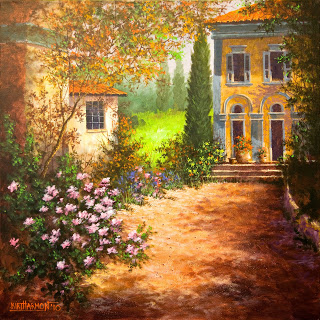 Tuscany Courtyard for Alex